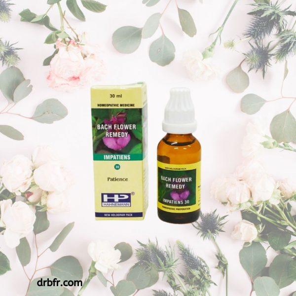 Natural Bach Flower Remedies-Impatiens