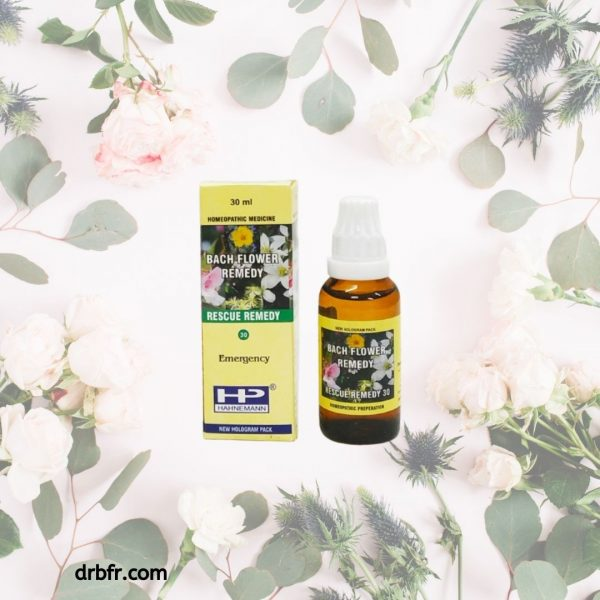 Natural Bach Flower Remedies-Rescue Remedy