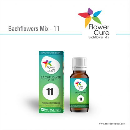 FlowerCure Mix 11 for Personality Problems Anxiety