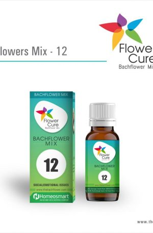 FlowerCure Mix 12 for Social and Emotional Issues