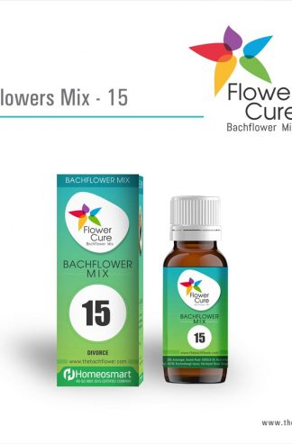 FlowerCure Mix 15 for Divorce