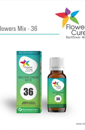 FlowerCure Mix 36 for Chronic Pain in Joints and Muscles
