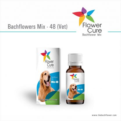 FlowerCure Mix 48 for Fear of Fireworks with Dogs
