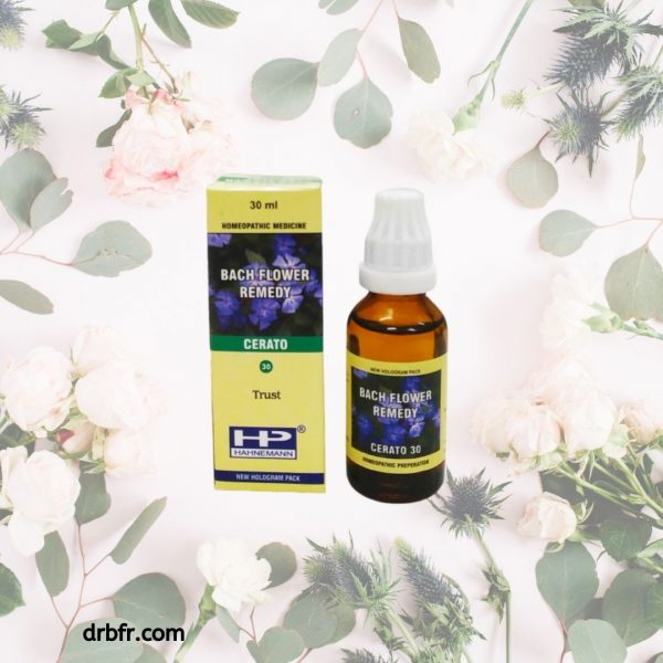 Natural Bach Flower Remedies-Cerato