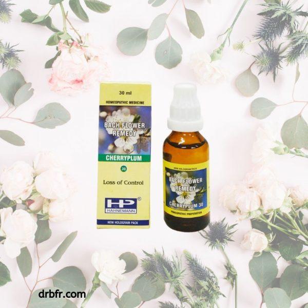 Natural Bach Flower Remedies-Cherry Plum