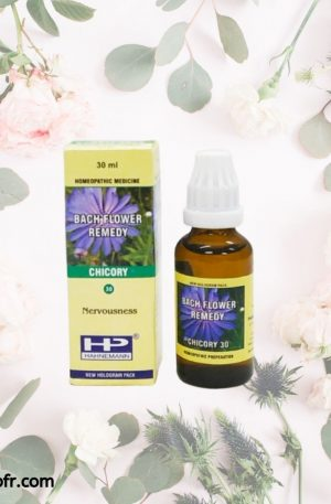 Natural Bach Flower Remedies-Chicory