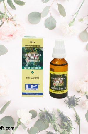 Natural Bach Flower Remedies-White Chestnut