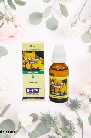 Natural Bach Flower Remedies-Mimulus