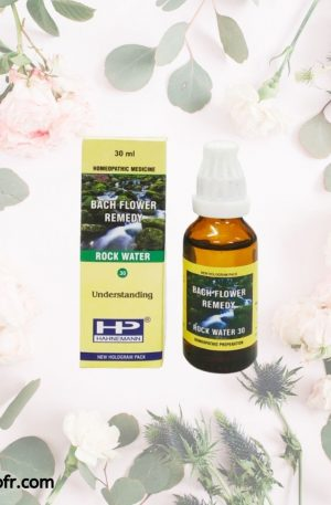 Natural Bach Flower Remedies-Rock Water