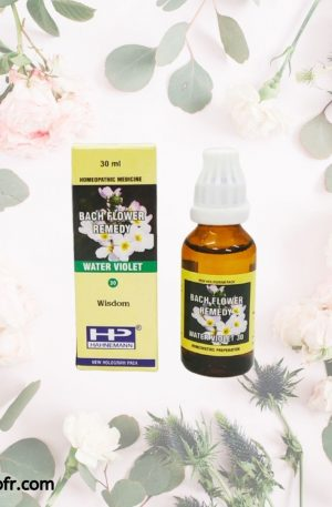 Natural Bach Flower Remedies-Water Violet