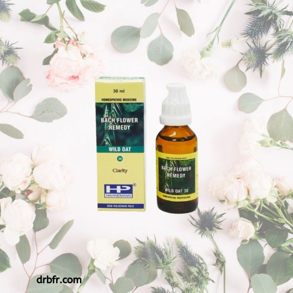Natural Bach Flower Remedies-Wild Oat