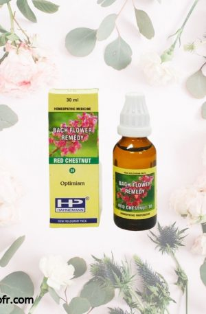 Natural Bach Flower Remedies-Red chestnud