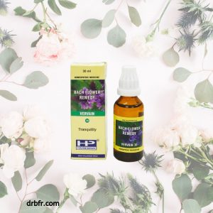 Natural Bach Flower Remedies-Vervain