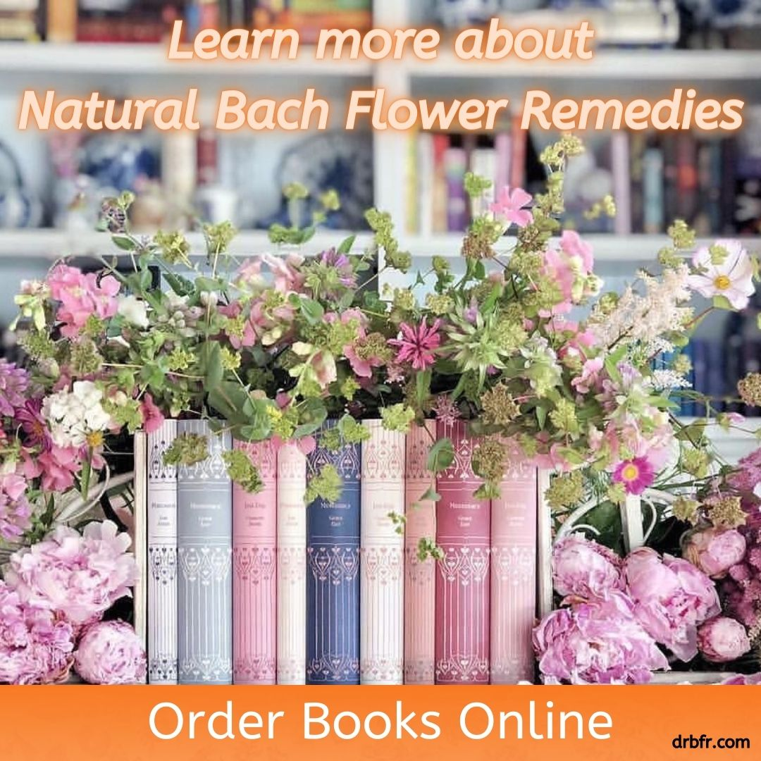 Natural Bach Flower Remedies Books