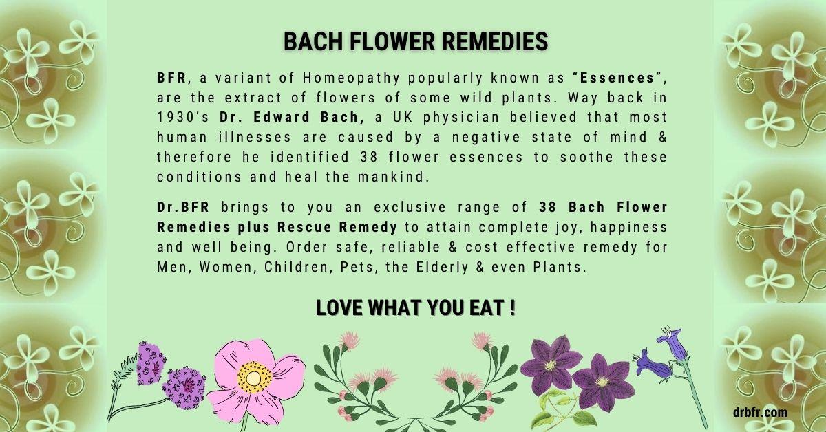 Natural Bach Flower Remedies